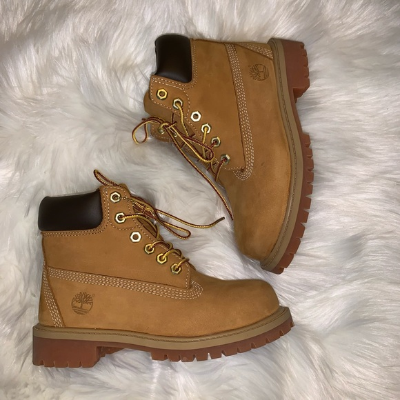 Wheat Nubuck Timberland Boots Boys Size 13